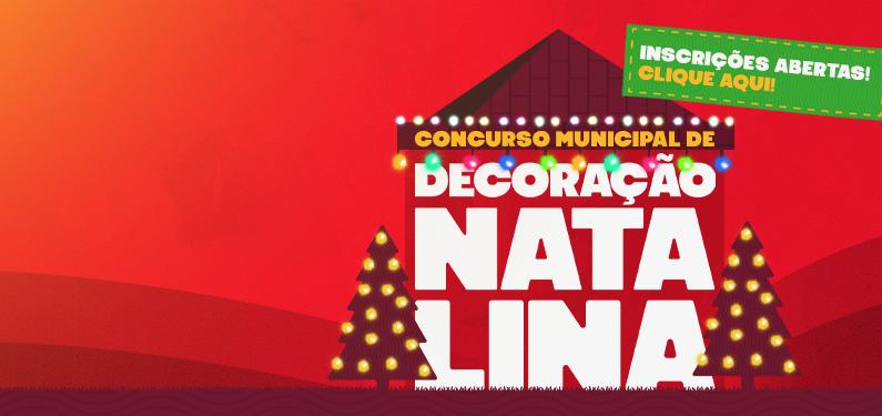 Concurso Municipal de Decoração Natalina 2021